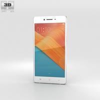 Oppo R7 Silver 3D Model