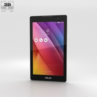 Asus ZenPad C 7.0 Aurora Metallic 3D Model
