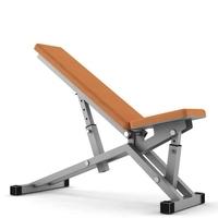 Fitness Bench 3D Model