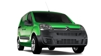 Citroen Berlingo  Van L1 Full Electric 2017 3D Model