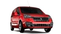 Peugeot Partner Van L1 Electric 2017 3D Model