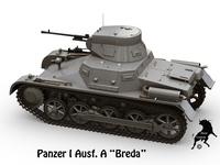 Panzer I Ausf A Breda 3D Model