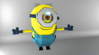despicable minion 3D Model