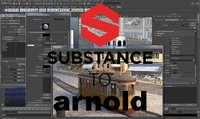 Substance Painter to Arnold 5 1.0.4 for Maya (maya script)