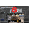 Substance Painter to Arnold 5 1.0.9 for Maya (maya script)