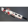 Sci-fi Kinetic Rifle 3D Model