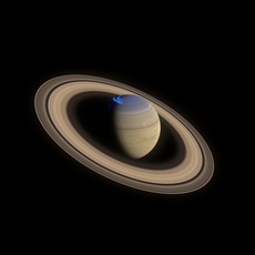 Saturn 4k 3D Model