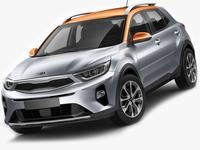 Kia Stonic 2018 3D Model