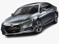 Honda Accord 2018 3D Model
