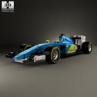 Ferrari Sauber C35 2015 3D Model