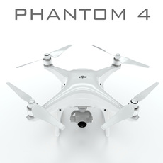 DJI Phantom 4 pro 3D Model