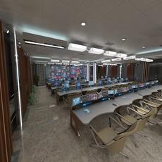 Control Room 1 3D Model