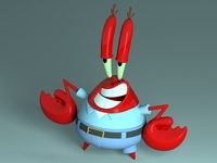 Mr. Krabs - Sirigueijo 3D Model