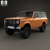 International Scout II 1976 3D Model