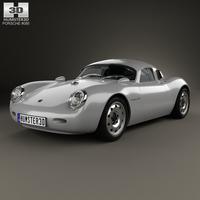 Porsche 550 Vintech coupe 2012 3D Model
