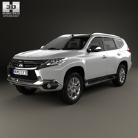 Mitsubishi Pajero Sport (TH) 2016 3D Model