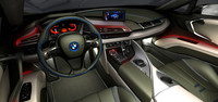 The BMW i8 2016 HD 3D Model