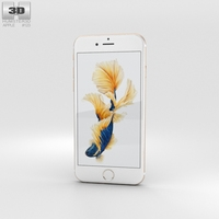 Apple iPhone 6s Gold 3D Model