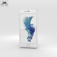 Apple iPhone 6s Silver 3D Model