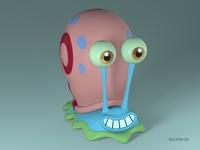 Gary the snail 3D Model