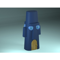 Squidward's House 3D Model