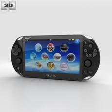 Sony PlayStation Vita Slim 3D Model