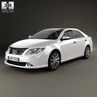 Toyota Camry with HQ interior 2011 3D Model