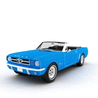 Ford Mustang 1965 convertible 3D Model