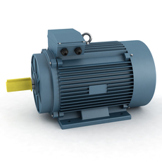 Electricity-powered motor 3D Model
