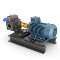 Pump gear 3D Model