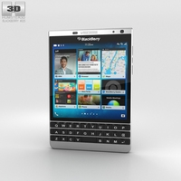 BlackBerry Passport Silver Edition 3D Model