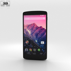 LG Nexus 5 White 3D Model