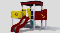 Children slide 3D Model