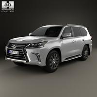 Lexus LX 2016 3D Model