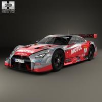 Nissan GT-R Nismo GT500 2015 3D Model