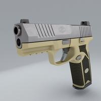 Pistol FN 509 3D Model