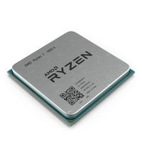 CPU Ryzen 3D Model