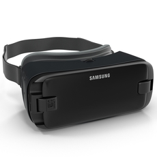 Samsung Gear VR 2017 3D Model