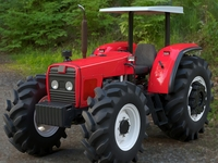 Tractor Generic 3D Model
