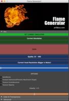 Flame Generator 1.0.0 for Maya (maya script)