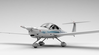 HK36 TC115 Diamond Airplane 3D Model