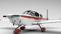 AA5A Grumman Cheetah 3D Model