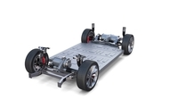 Tesla Model X P100D AWD Chassis 3D Model
