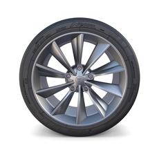 Tesla Model X Wheel 3D Model