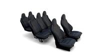 Tesla Model X Seats 3D Model