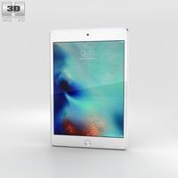 Apple iPad Mini 4 Silver 3D Model