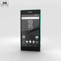 Sony Xperia Z5 Green 3D Model