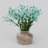 Vray Ready Flower Pot 3D Model