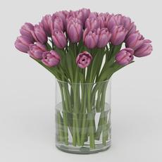 Vray Ready Flower Pot 3D Model