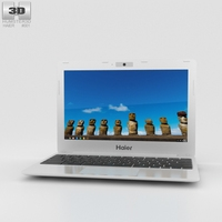 Haier Chromebook 11 White 3D Model